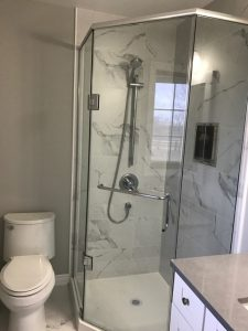 Walk in Showers Burlington, Oakville, Bathroom Remodeling