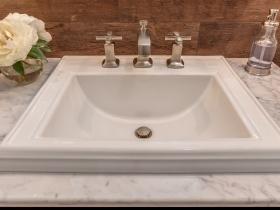 Square Sink Vanity
