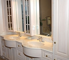 Two Sink Custom Vanity