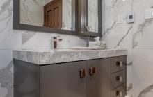 Modern Bathroom Vanity Remodel