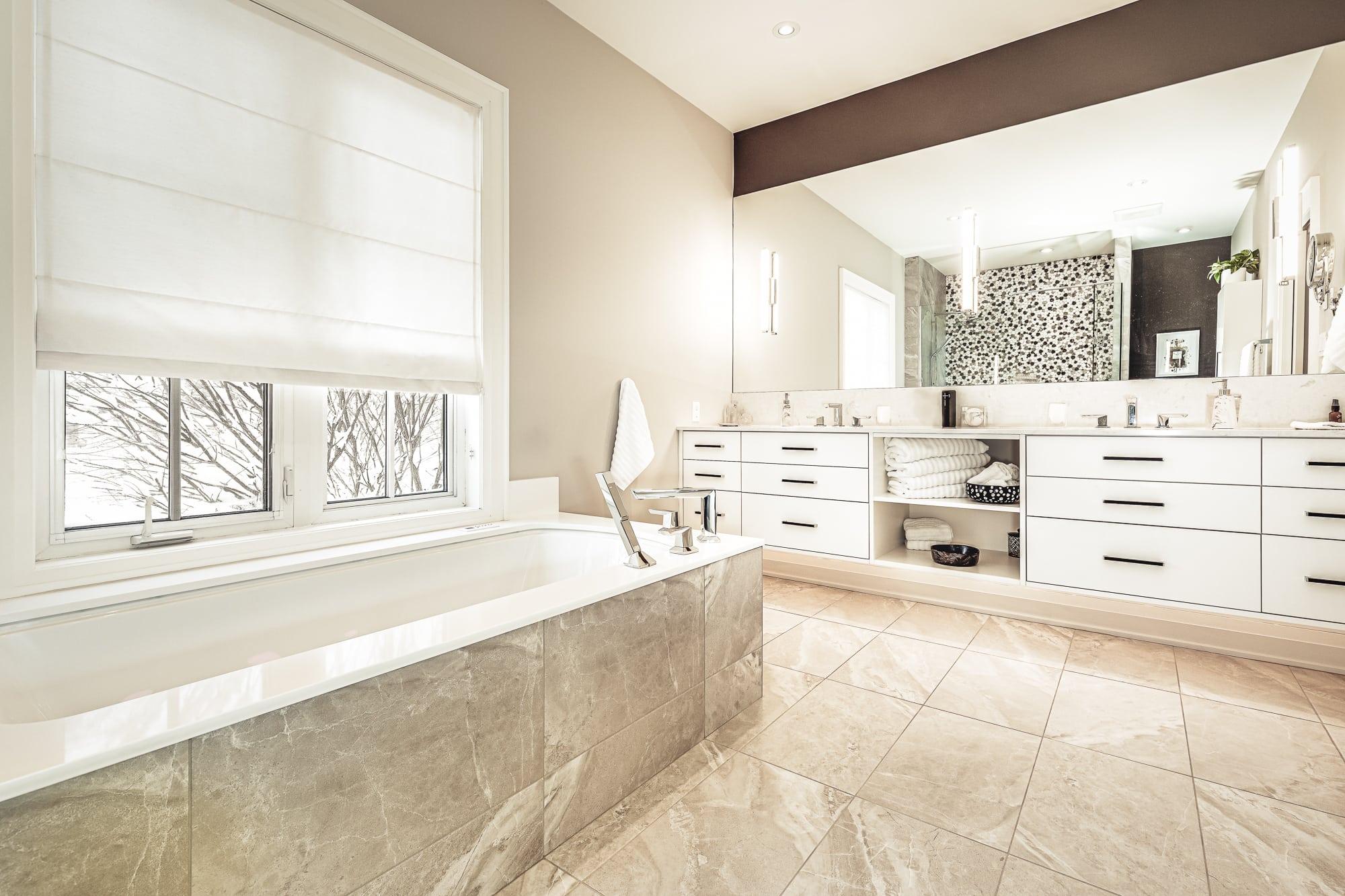 bathroom designs and renovations Burlington Oakville