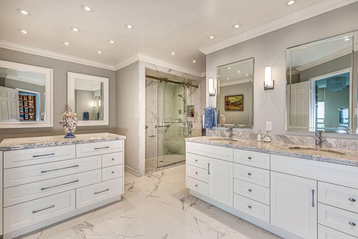 Master ensuite Bathroom Renovation Burlington Oakville