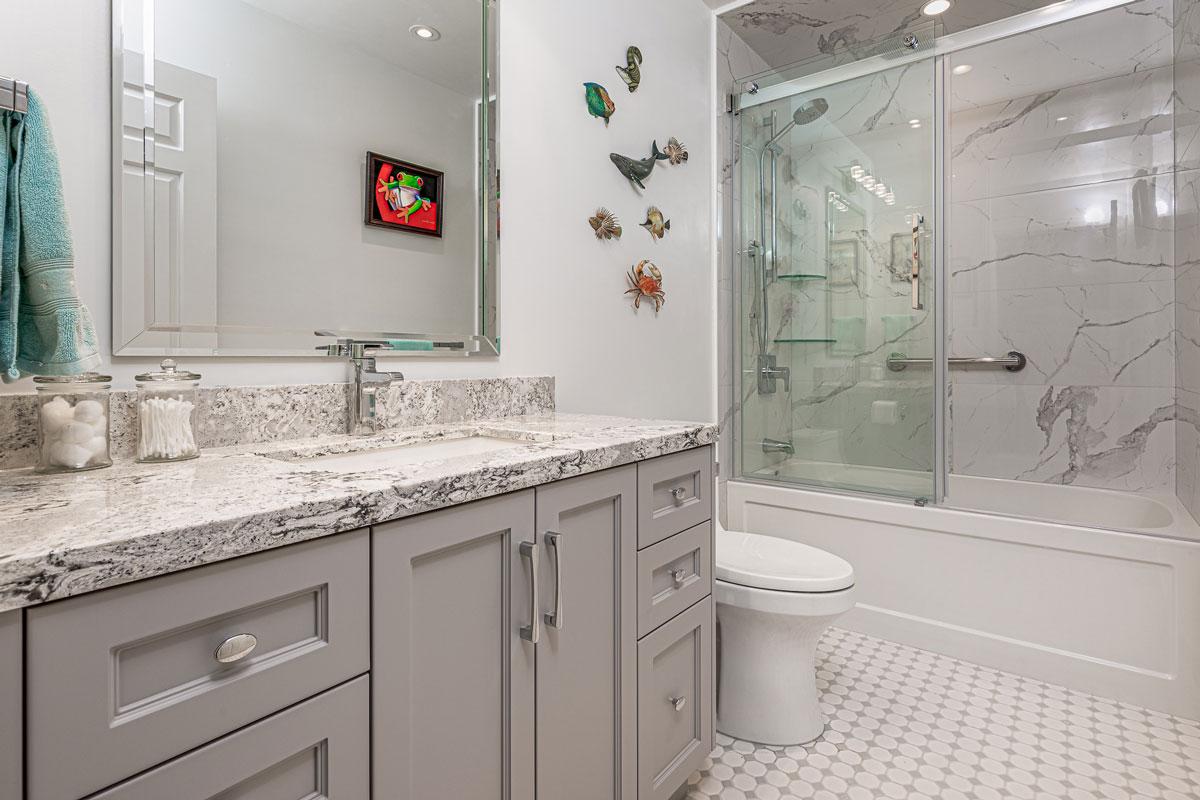 Small Bathroom Renovation Burlington Oakville