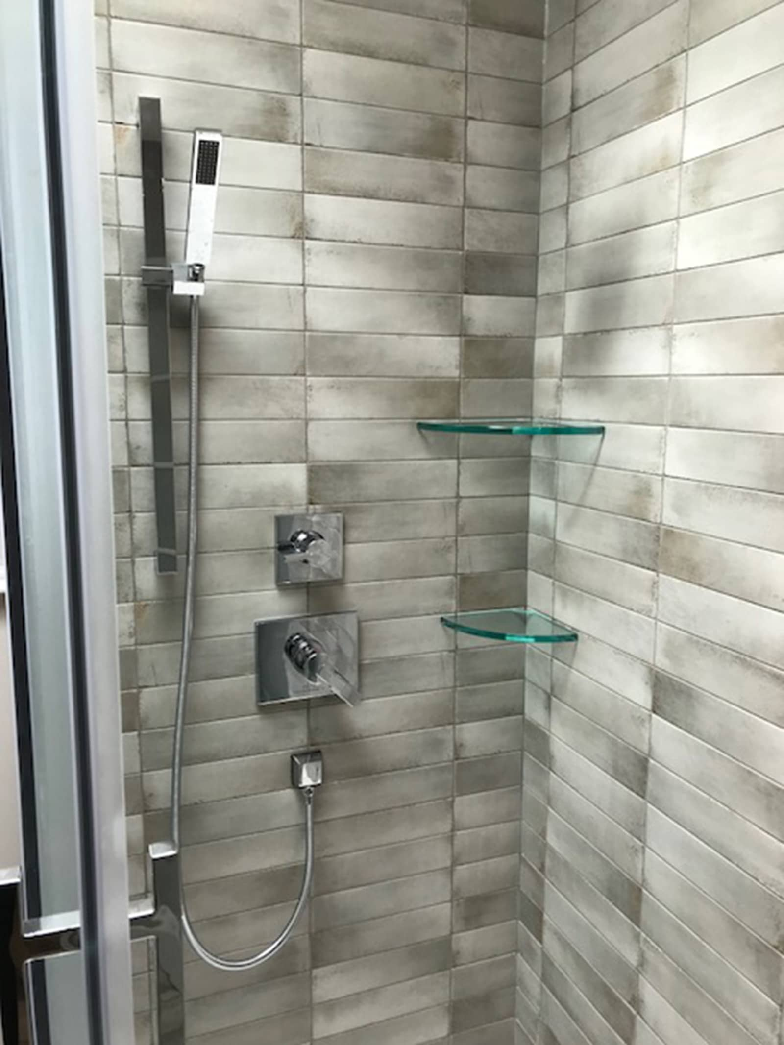 Shower Bathroom Renovation Burlington Oakville