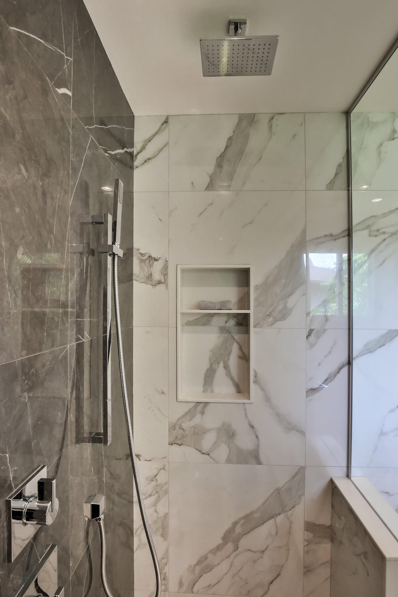 Glass Shower Door Bathroom Renovation Burlington Oakville