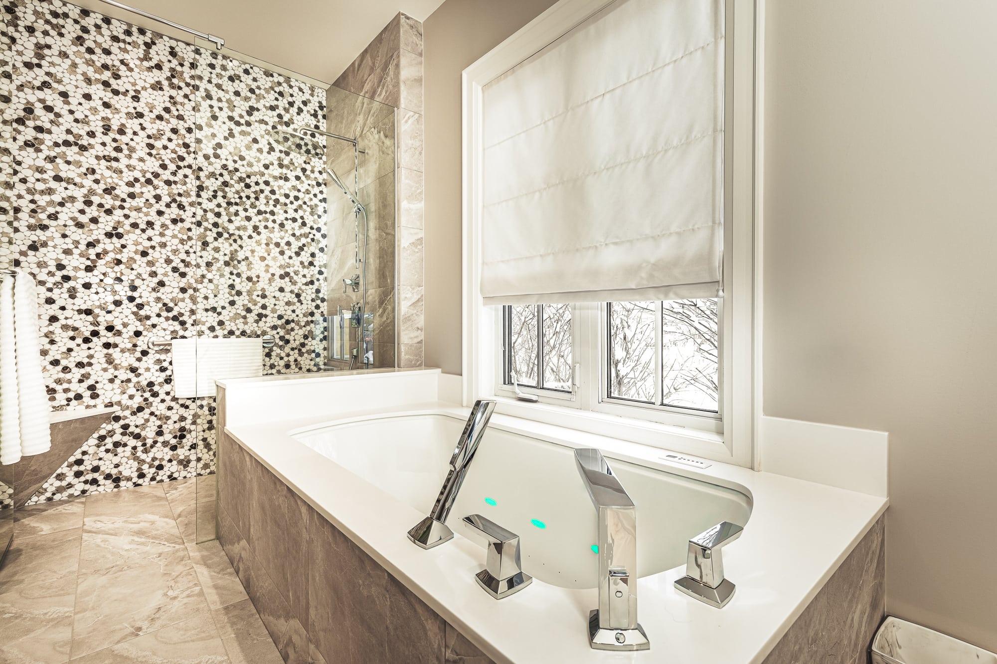 Bathroom  interior tube renovation