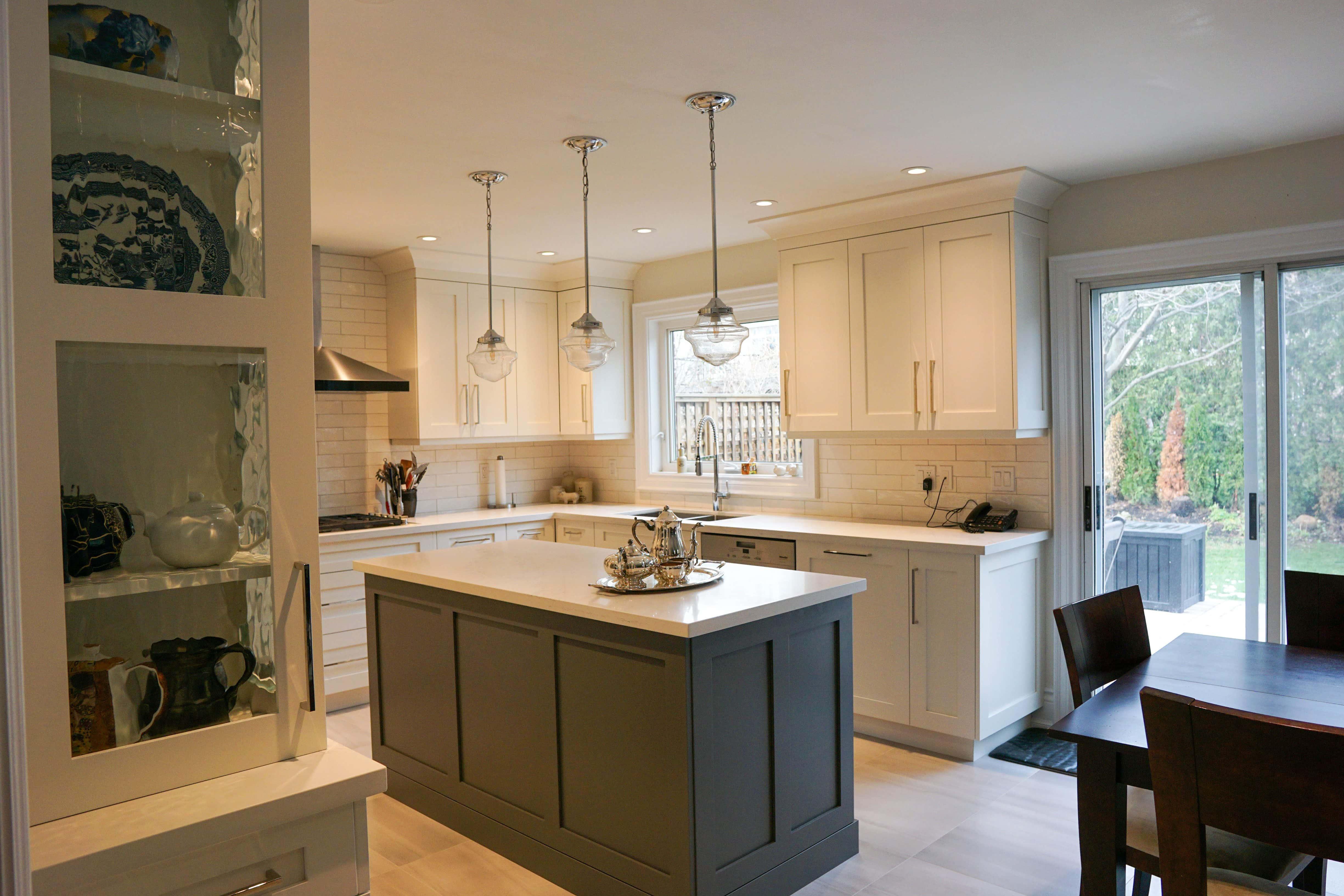 Kitchen interior design renovation  Burlington Oakville
