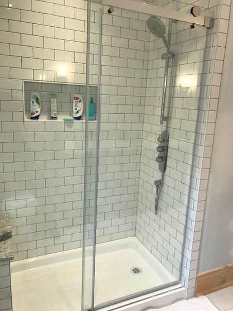 Glass Door Shower Ideas