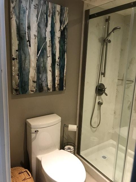 Small Bothroom Walk-in Shower
