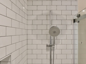Simple Walk-in Shower