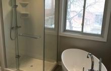 Glass Door Walk-In Shower