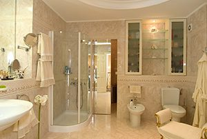 Modern bathroom remodeling, Burlington on
