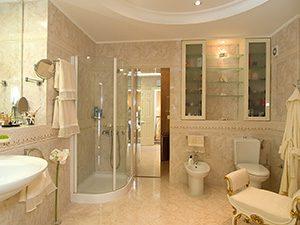 Modern bathroom remodeling, Burlington on