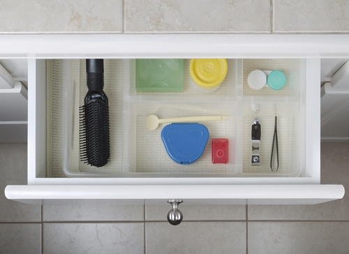 bathroom organizing remodelling