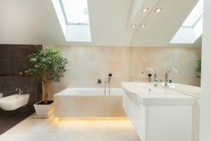 Modern bathroom renovations, Burlington on