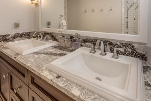 Double sink vanity remodel Oakville
