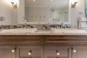 Double Vanity bathroom remodel Burlington