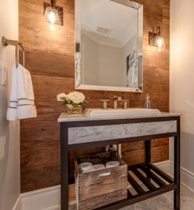 Modern Bathroom Vanity Remodel Burlington
