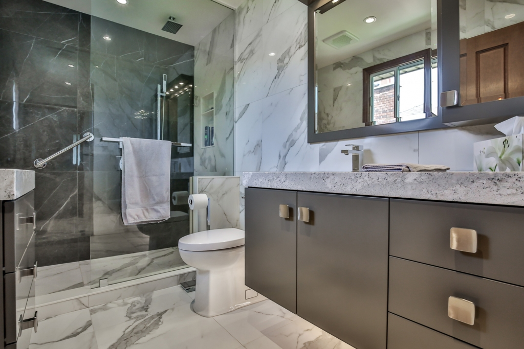 Modern Bathroom Renovations Burlington