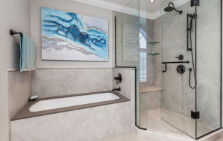A Timeless Bathroom Renovation